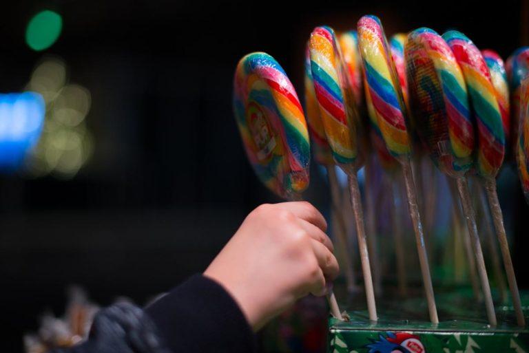 Twoją uwagę wzbudziły słodycze reklamowe?